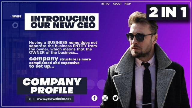 Photo of Corporate Company Profile – MotionArray 896848