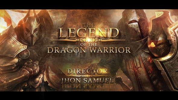 Photo of Dragon Warrior Cinematic Trailer – Videohive 15301622