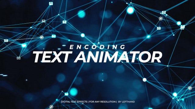 Photo of Encoding Text Animator – MotionArray 905720