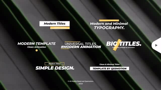 Photo of Fast And Stylish Titles – MotionArray 896949