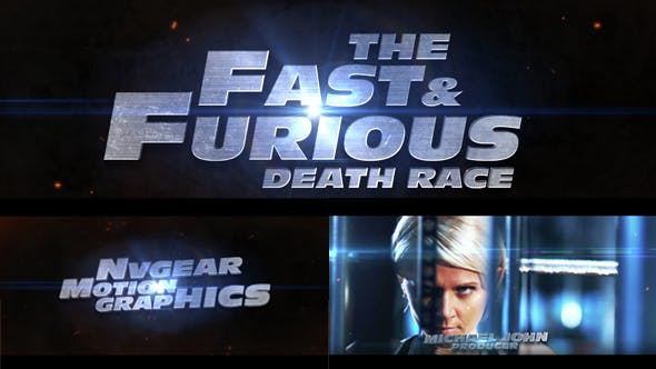 Photo of Fast & Furious Cinematic Trailer – Videohive 15148728