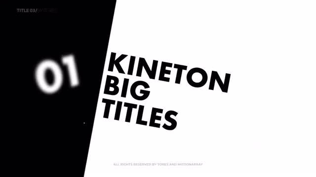 Photo of Kinetic Typography Titles V5 – MotionArray 903480