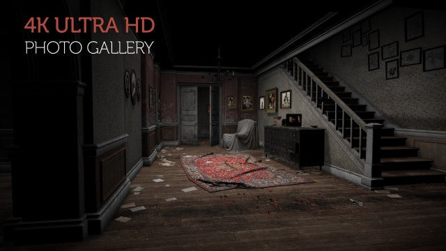 Photo of Photo Gallery In An Abandoned House – MotionArray 896969