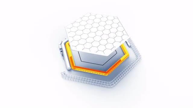 Photo of Tech Hexagon Logo – MotionArray 909322