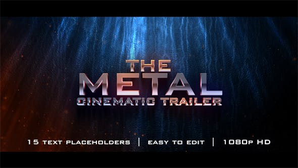 Photo of The Metal Cinematic Trailer – Videohive 18541886