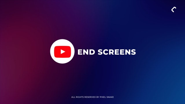 Photo of Youtube End Screens 4k – MotionArray 902812