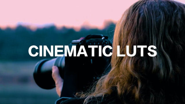 Photo of Cinematic LUTs – MotionArray 915503