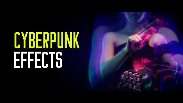 Photo of Cyberpunk Effects – MotionArray 911808