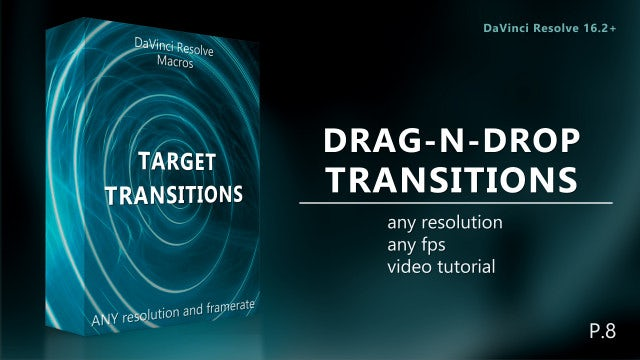 Photo of Drag-N-Drop Target Transitions Pack 8 – MotionArray 927105