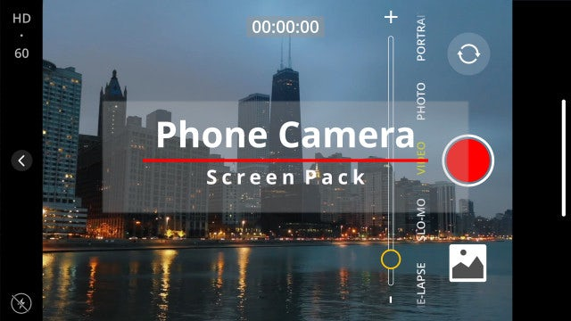 Photo of Phone Camera Screen Pack – MotionArray 917703