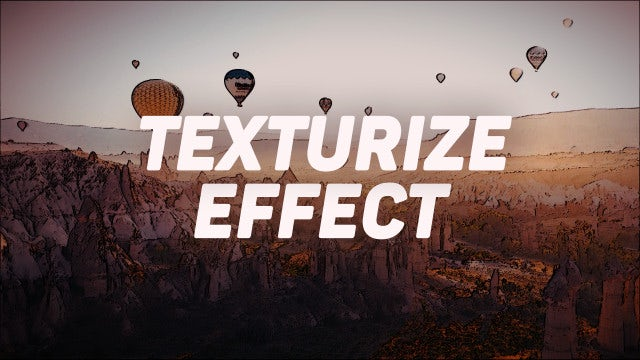 Photo of Texturize Effect Presets – MotionArray 924706
