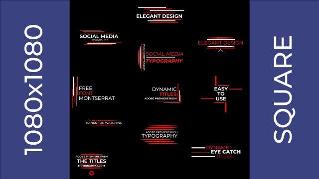 Photo of Social Media Typography – MotionArray 860942