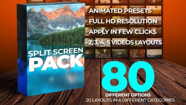 Photo of Split Screen Pack – FHD – MotionArray 917737
