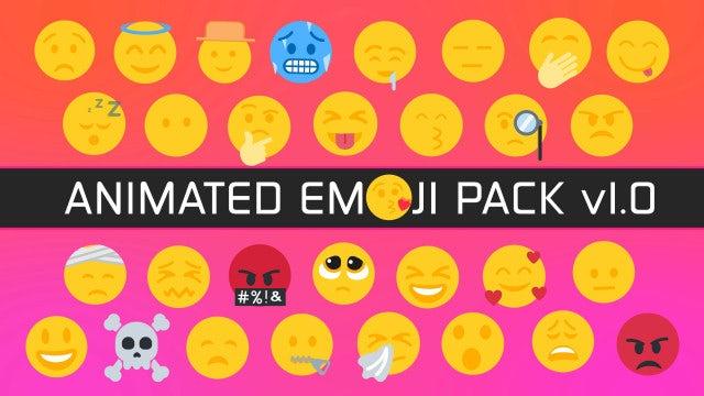 Photo of Animated Emoji Pack 1.0 – MotionArray 928569