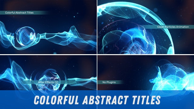Photo of Colorful Abstract Titles – MotionArray 919388