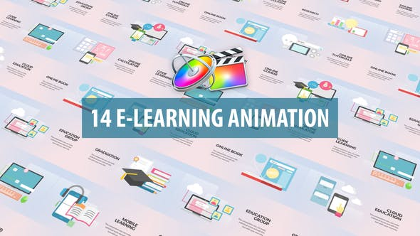 Photo of E-Learning Animation   Apple Motion & FCPX – Videohive 30952429
