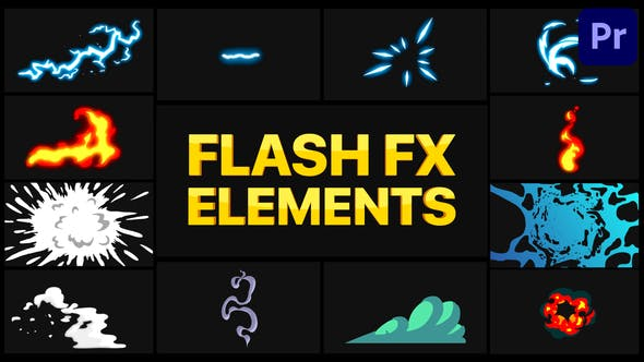 Photo of Flash FX Pack 05 | Premiere Pro MOGRT – Videohive 30958593