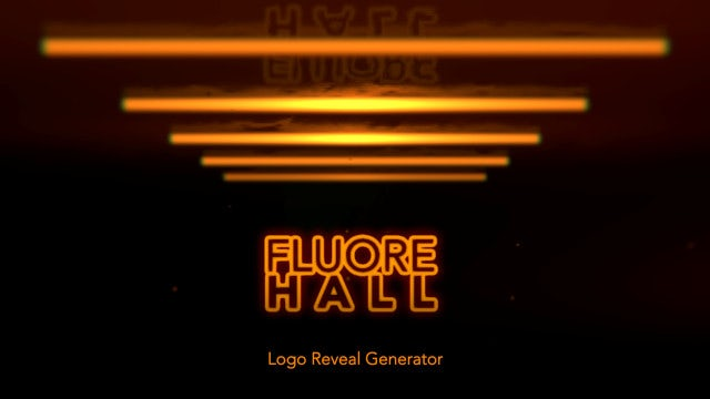 Photo of Fluore Hall Logo Reveal Generator – MotionArray 935868