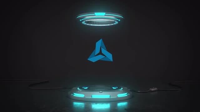 Photo of Futuristic Pedestal Logo – MotionArray 919505