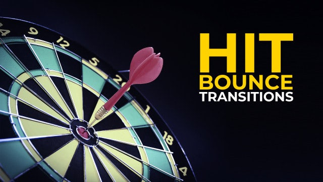 Photo of Hit Bounce Transitions – MotionArray 931446