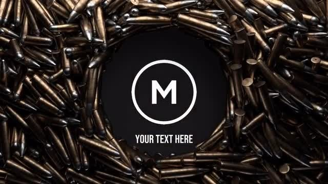 Photo of Logo Opener With Bullets. The Army Theme – MotionArray 936607