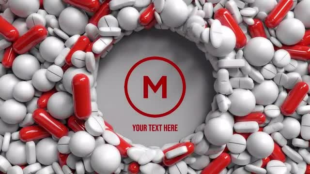 Photo of Logo Opener With Pills. Medical Theme – MotionArray 934962
