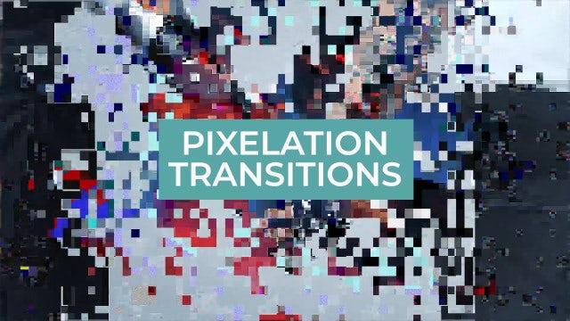 Photo of Pixelation Transitions – MotionArray 936129