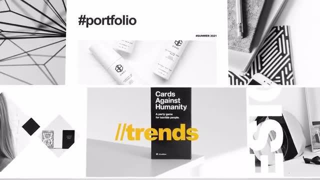 Photo of Portfolio Logo Opener 4K – MotionArray 924683