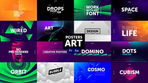 Photo of Posters Art – Videohive 31005015