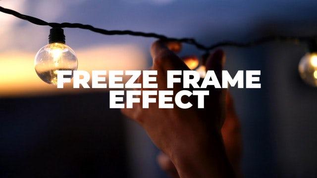 Photo of Freeze Frame Effect – MotionArray 928884