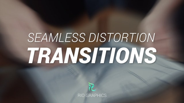 Photo of Seamless Distortion Transitions – MotionArray 929605