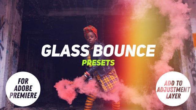 Photo of Glass Bounce Presets – MotionArray 935877