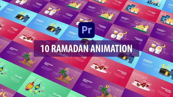 Photo of Ramadan Animation | Premiere Pro MOGRT – Videohive 30997349