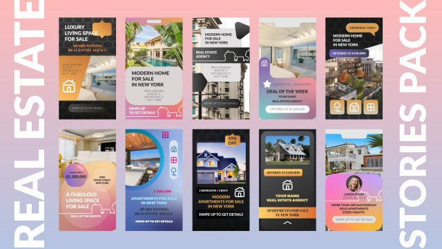 Photo of Real Estate Stories Pack – MotionArray 924453