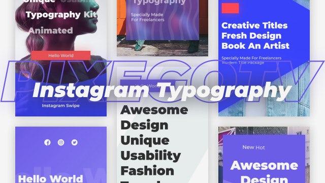 Photo of Social Media Typography – MotionArray 922687