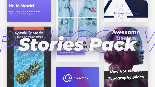 Photo of Stories Pack – MotionArray 934960