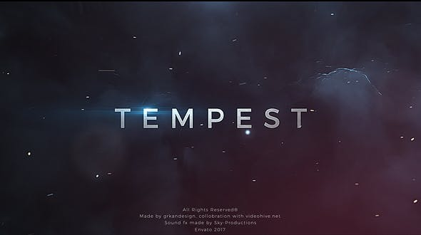 Photo of Tempest | Trailer Titles – Videohive 19269758