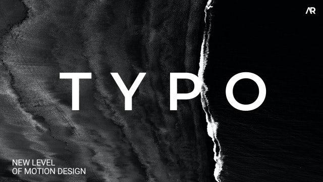 Photo of Typography – MotionArray 927219