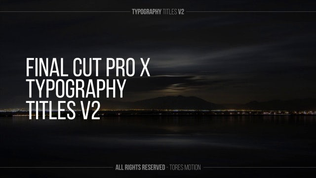 Photo of Typography Titles V2 – MotionArray 934984