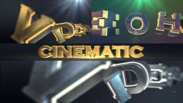 Photo of Cinematic Logo Text Reveal – Videohive 17646404