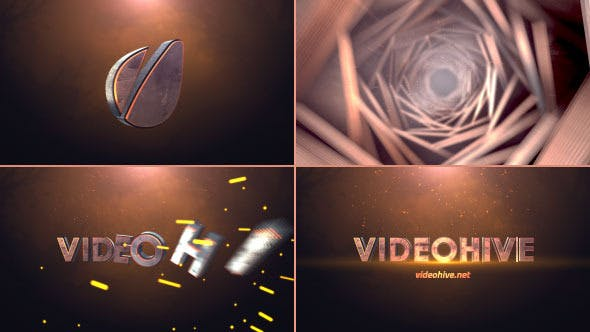 Photo of Cinematic Tunnel Logo Text Reveal – Videohive 8768350