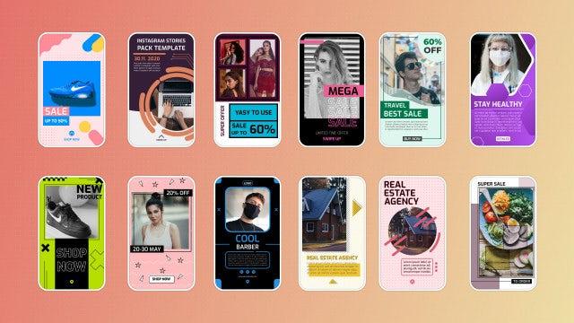 Photo of Modern Instagram Stories Pack – MotionArray 960333