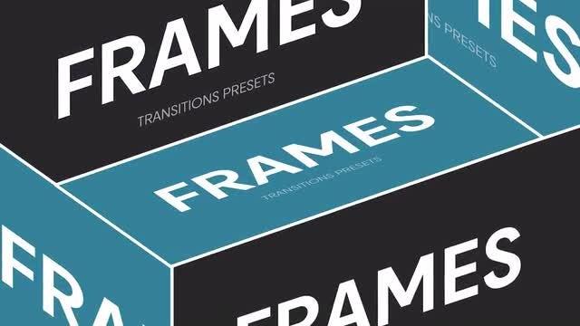 Photo of Frames Transitions Presets – MotionArray 961460
