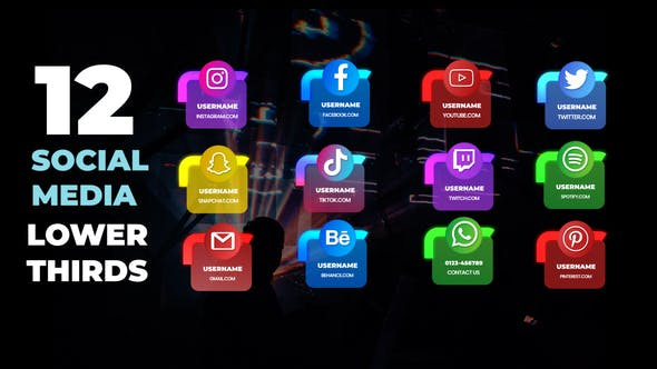 Photo of Social Media Lower Thirds – Videohive 31676661