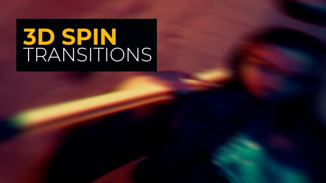 Photo of 3D Spin Transitions – MotionArray 968463