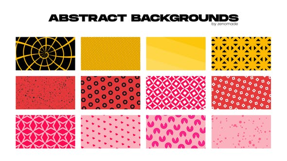 Photo of Abstract Backgrounds for Premiere Pro – Videohive 31998209