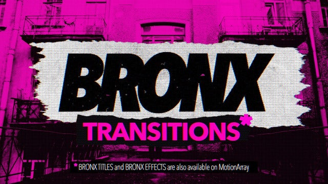 Photo of Bronx – Transitions – MotionArray 969490