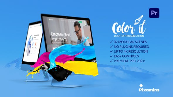 Photo of Color it – Desktop Presentation for Premiere Pro – Videohive 31809178