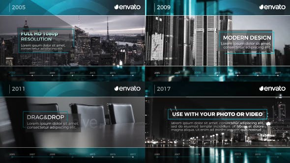 Photo of Corporate Timeline – Videohive 19455590