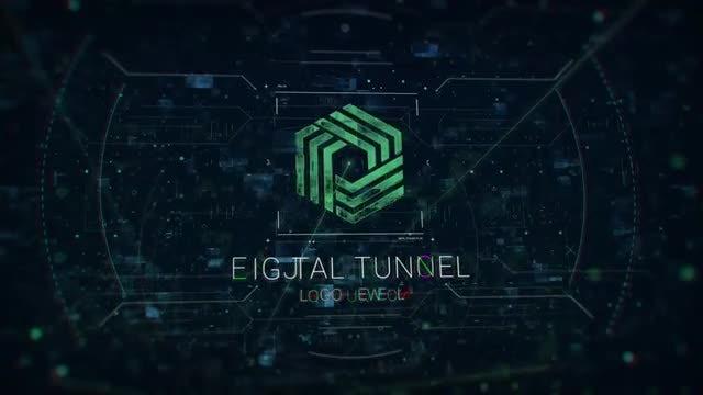 Photo of Digital Tunnel Logo – MotionArray 953792